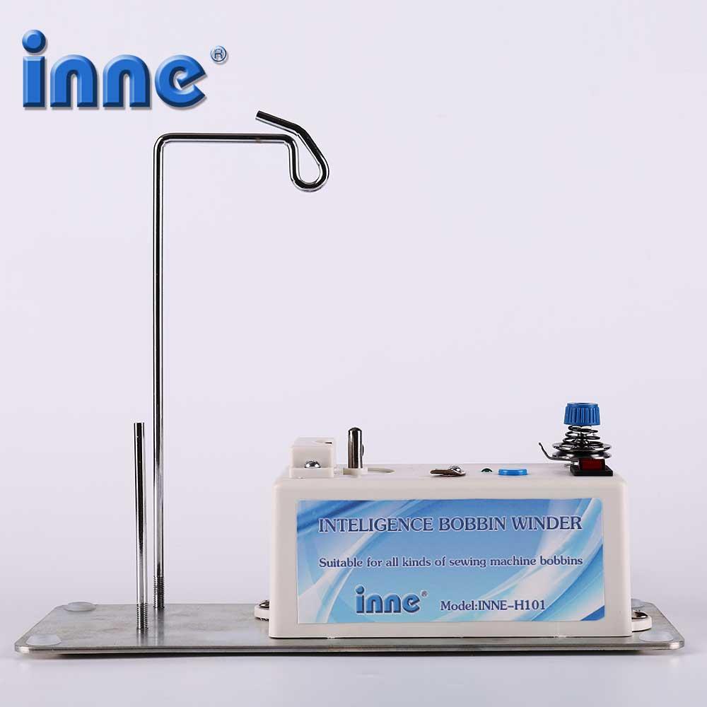 ماكينة خياطة INNE بكرة اللفاف الذكي الكهربائية التلقائي موضوع حامل الملحقات أداة مساعد مجموعة عالمية
