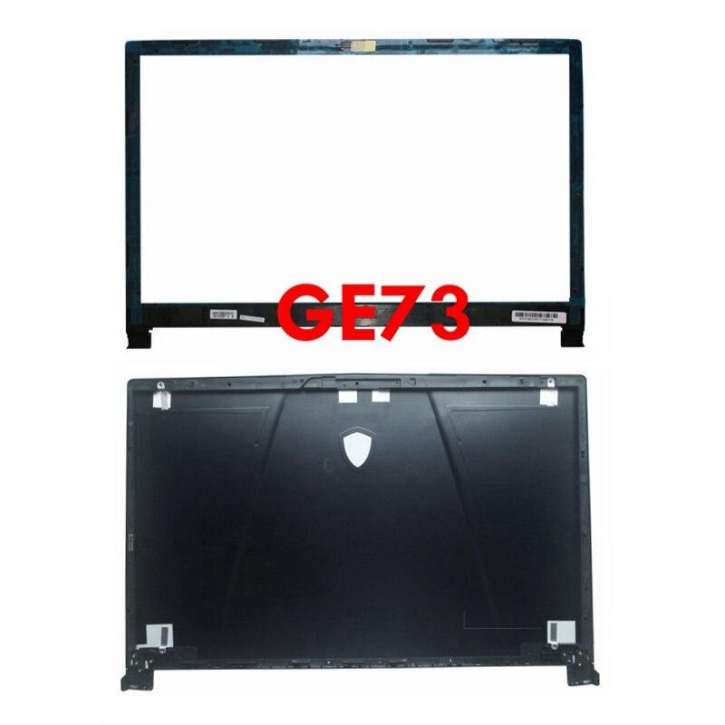 Novedad para MSI GE73 GE73VR 7RF-006CN, cubierta para computadora portátil LCD, cubierta trasera, carcasa para tapa trasera, gabinete negro 3077C1A213HG017
