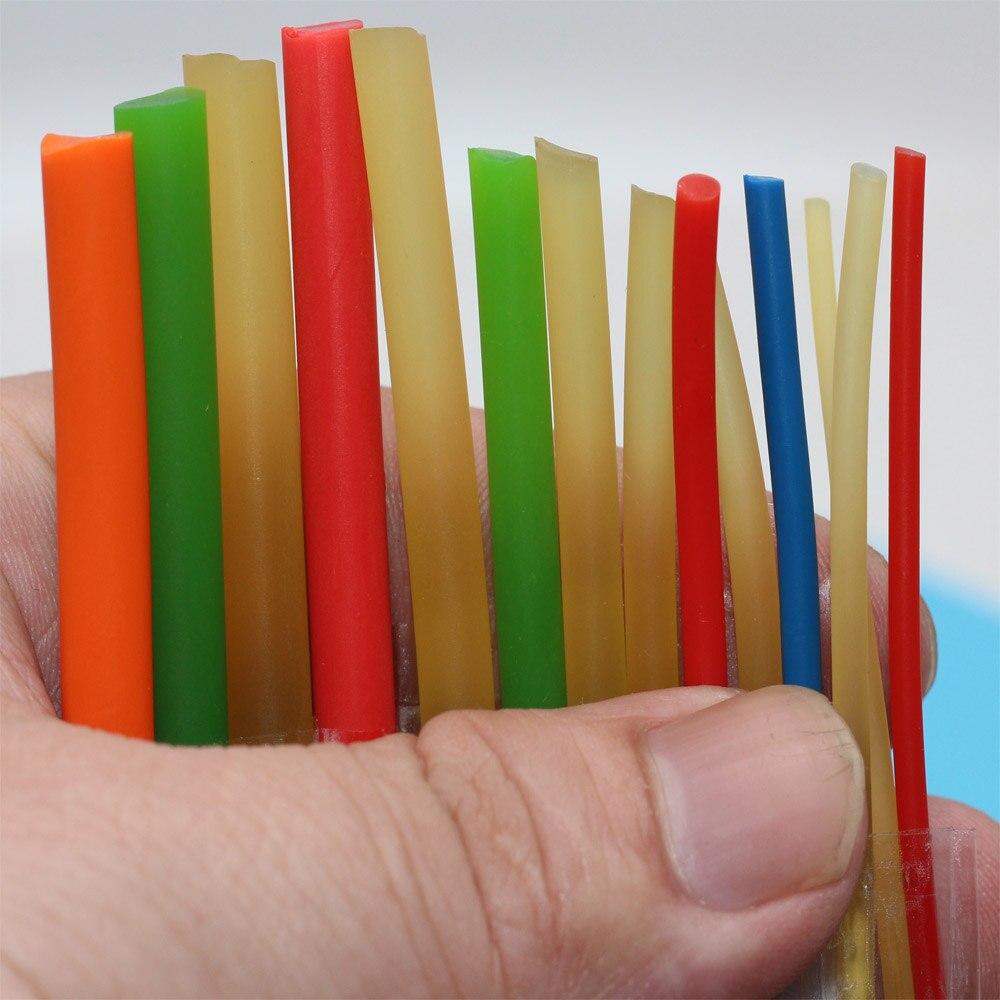 Cuerda de goma sólida de 2-6mm de diámetro elástico de 10 metros, buena para pesca, cuerda retráctil de goma