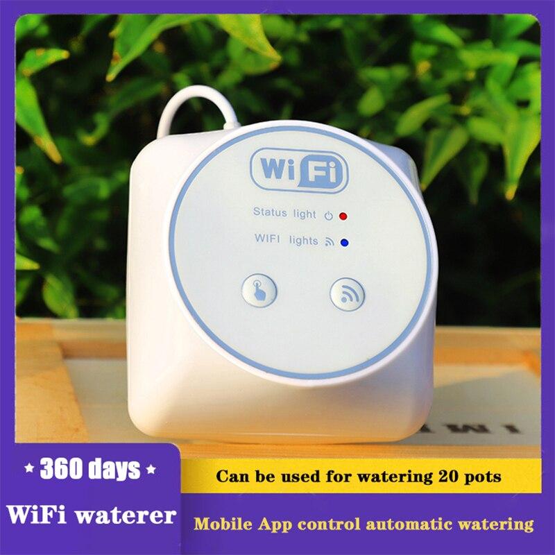 Автоматический контроллер капельного орошения с Wi-Fi, садовый водяной насос для растений, таймер, теплицы, умные устройства для полива, компл...