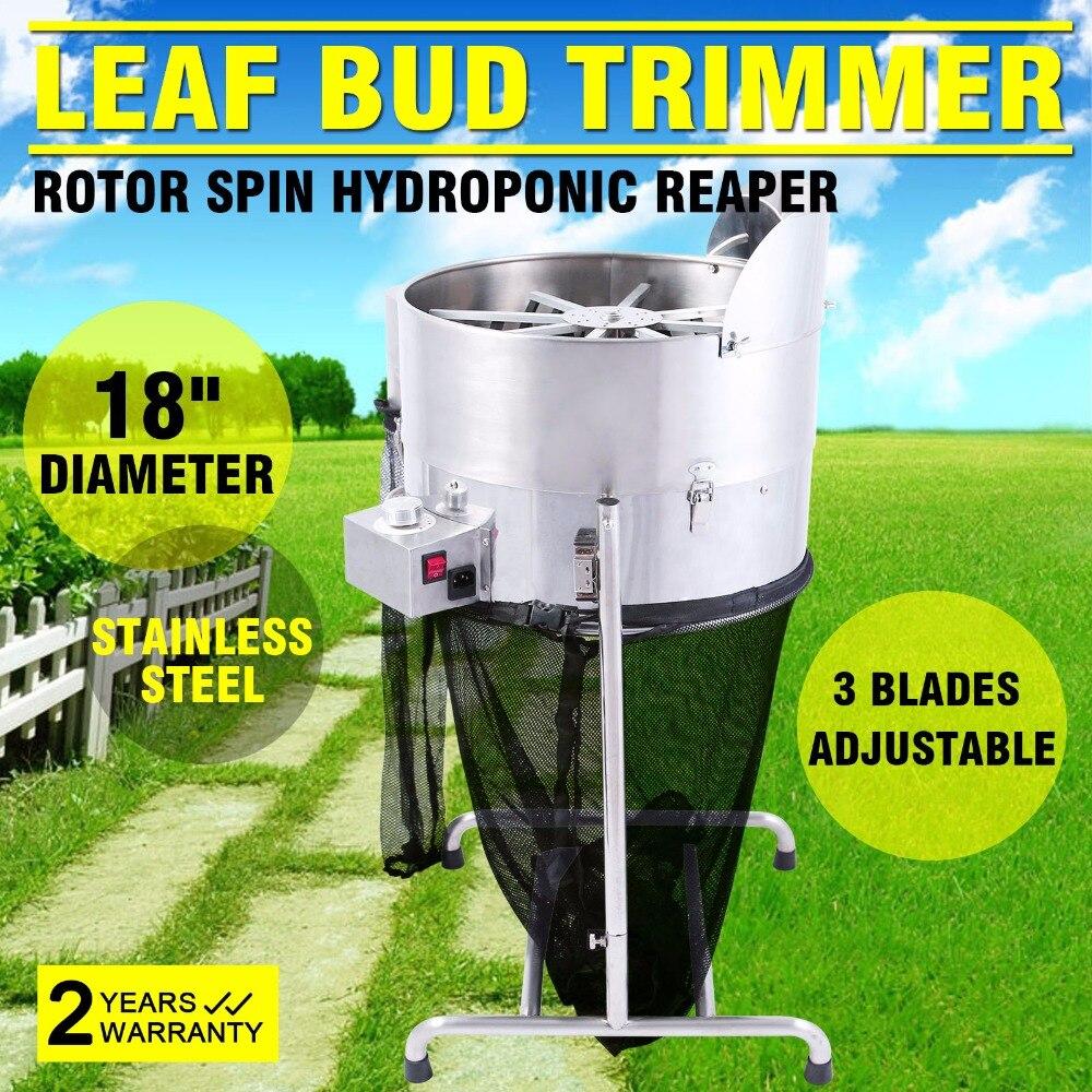"""Cortador de brotes de hojas 18 """"cortador de brotes de hojas hidropónicas eléctrico 3 velocidades FLORES PLANTAS PRO"""