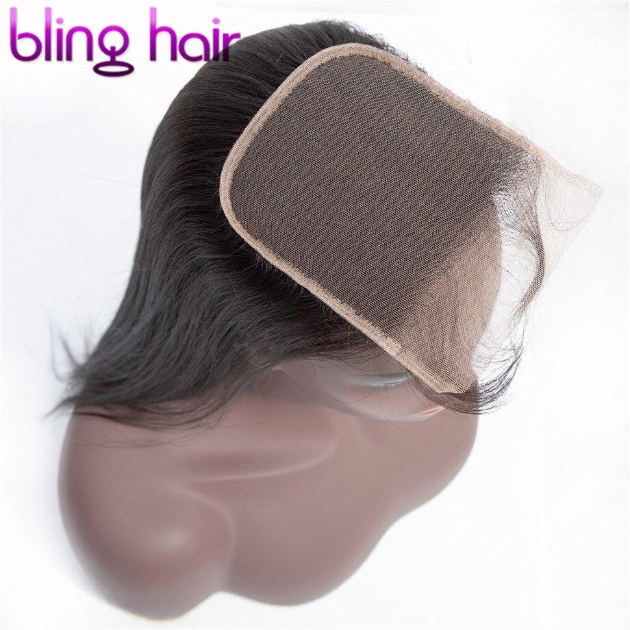 Bling Haar 4x4 Spitze Verschluss Brasilianische Gerade Menschliches Haar Schließung Mit Baby Haar Freien Teil Natürliche Farbe 8 22 Zoll Kostenloser Versand Verschlüsse Aliexpress