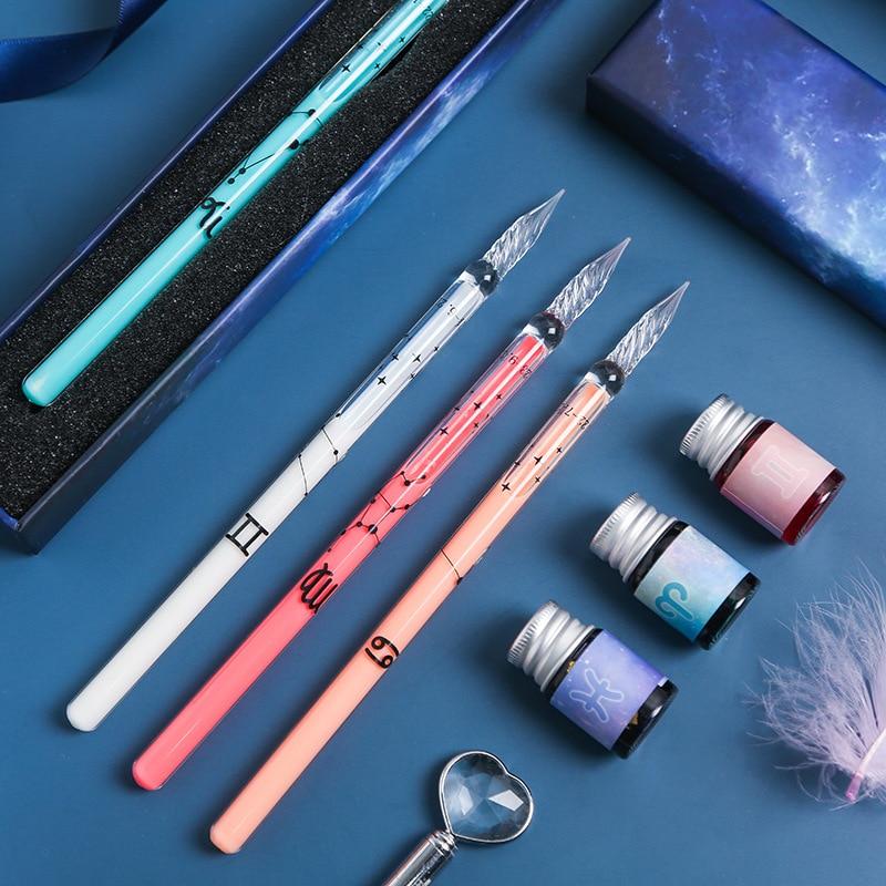 1-dip-pen-doce-constelaciones-papeleria-conjunto-de-vidrio-de-estudiante-suministros-de-escritura-pintura-caja-de-regalo