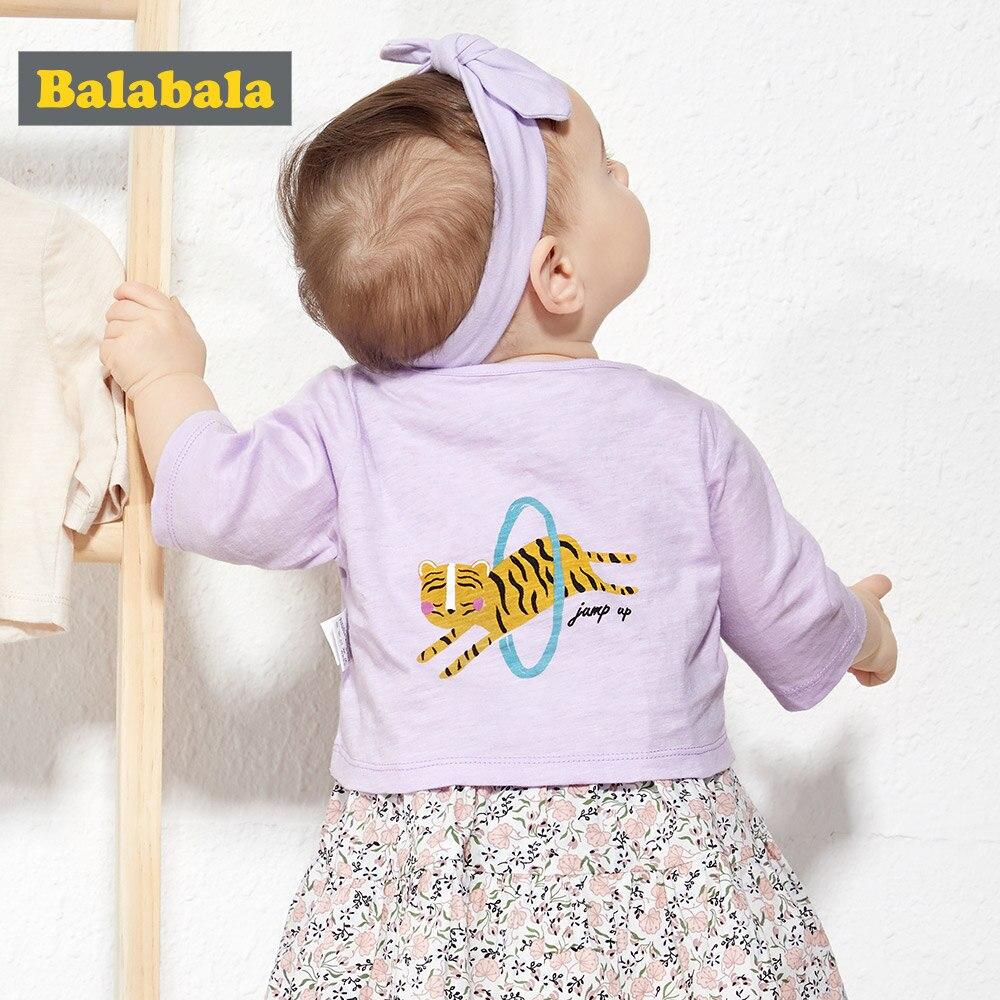 BalabalaChildren's clothing girls coat summer 2019 new children's thin coat girls boys baby cotton jacket