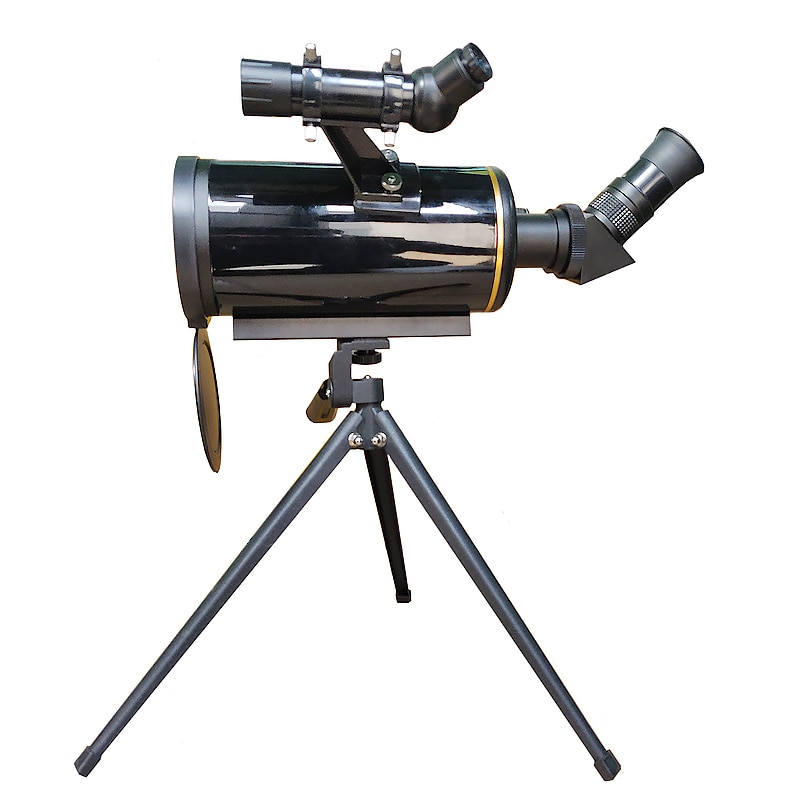 HD 90/1000 Telescópio Astronômico Telescópio Maksutov-Cassegrain w/Tripé 5x Finderscope 24 Longo Foco Monocular para o Planeta Espaço assistindo