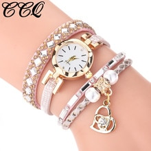Luxury Women Watches Dress Gift Vintage Shining Pearl Jewellery Creative Ladies Clock Bracelet Watch