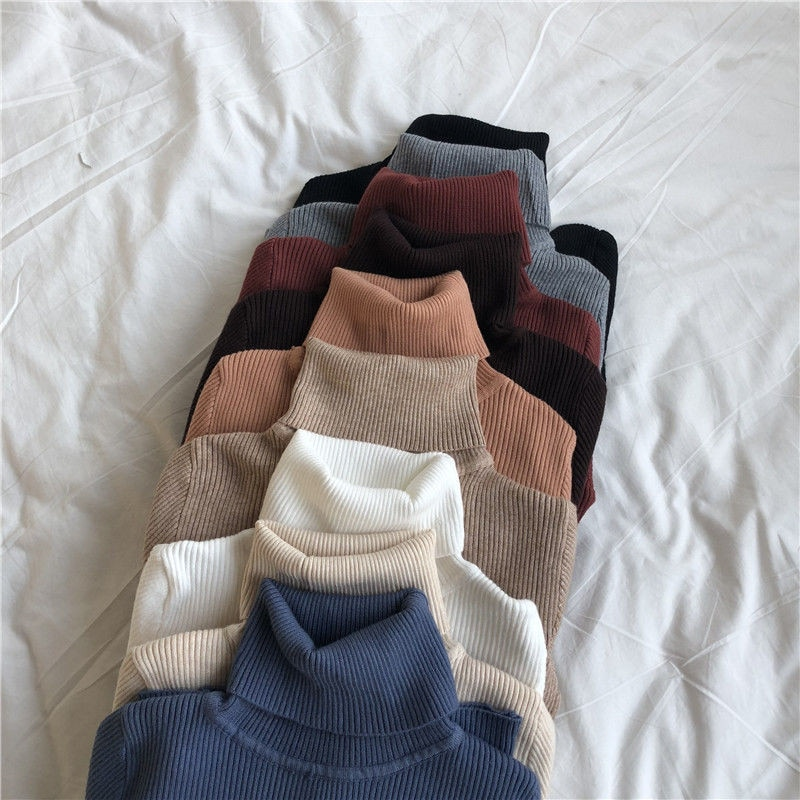 Women Sweaters 2020 Autumn Winter Tops Korean Slim Women Pullover Knitted Sweater Jumper Soft Warm Pull Femme