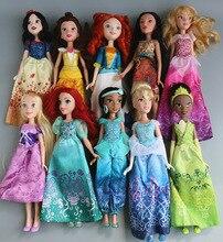 Кукла принцессы Белоснежка Ариэль Белль куклы-Рапунцель для девочек игрушки для детей Детские игрушки подарок для девочек