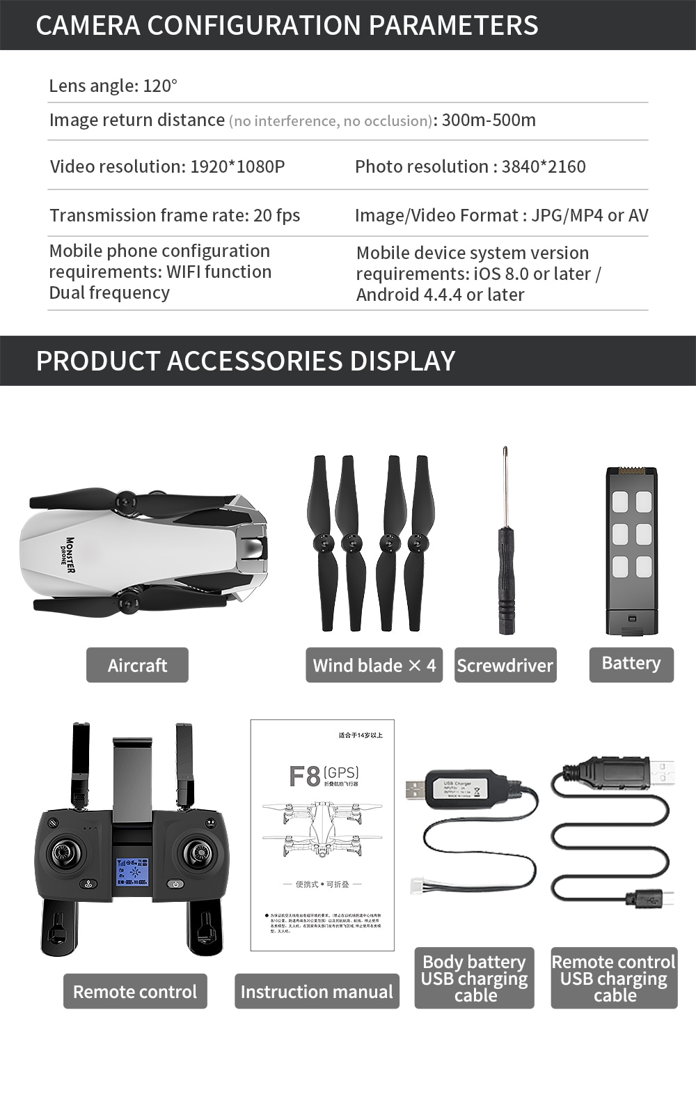 Youngeast 1200M Control 28Minis GPS Drone with Camera 4K Radio Control Toys RC Drone Professional enlarge