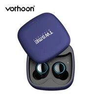vothoon wireless bluetooth 5 0 earphone in ear true wireless earbuds mini headset for samsung galaxy iphone xs xiaomi