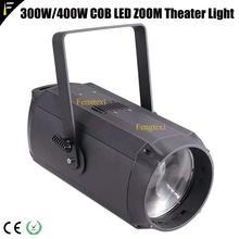 3200K/5600K CTM WW/CW LED 300watt COB Theater Spot Light Large Range Projection Flood Par with Zoom 10-60 degree Studio Blinder