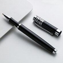 Stylo à bille en métal simple personnalité signature stylo entreprise publicité cadeau stylo bureau écriture stylo