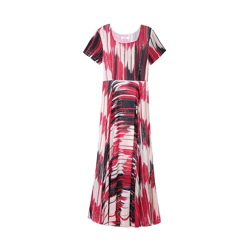 Robe Longue Dress Women Summer Chiffon Plus Rozmiar Sukienki Ropa Mujer Verano 2021 Sukienka Boho Vintage Ladies Dresses Vestido