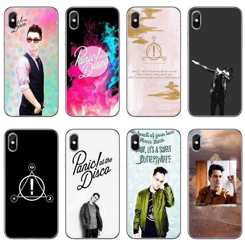 Brendon Urie Panic! Bei Disco Für Huawei Mate 20 10 9 P30 P20 P10 P9 pro Lite P Smart plus 2019 Zubehör telefon fall