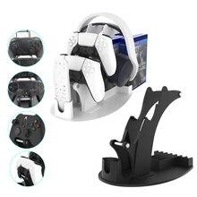 Универсальный кронштейн для контроллера, подставка для пульта дистанционного управления, держатель, хранилище для дисков для PS5, PS4, Xbox Switch, игровые аксессуары