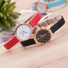 Minimalist Fashion Watch Women Leather Strap Watch For Women Travel Souvenir Birthday Women's Wristw