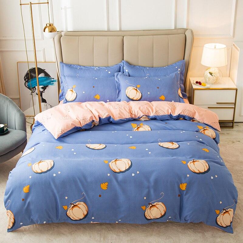 40 البيئية حك الدافئة الكشمير ثلاثة أربعة قطعة دعوى حاف الغطاء غطاء سرير المخدة