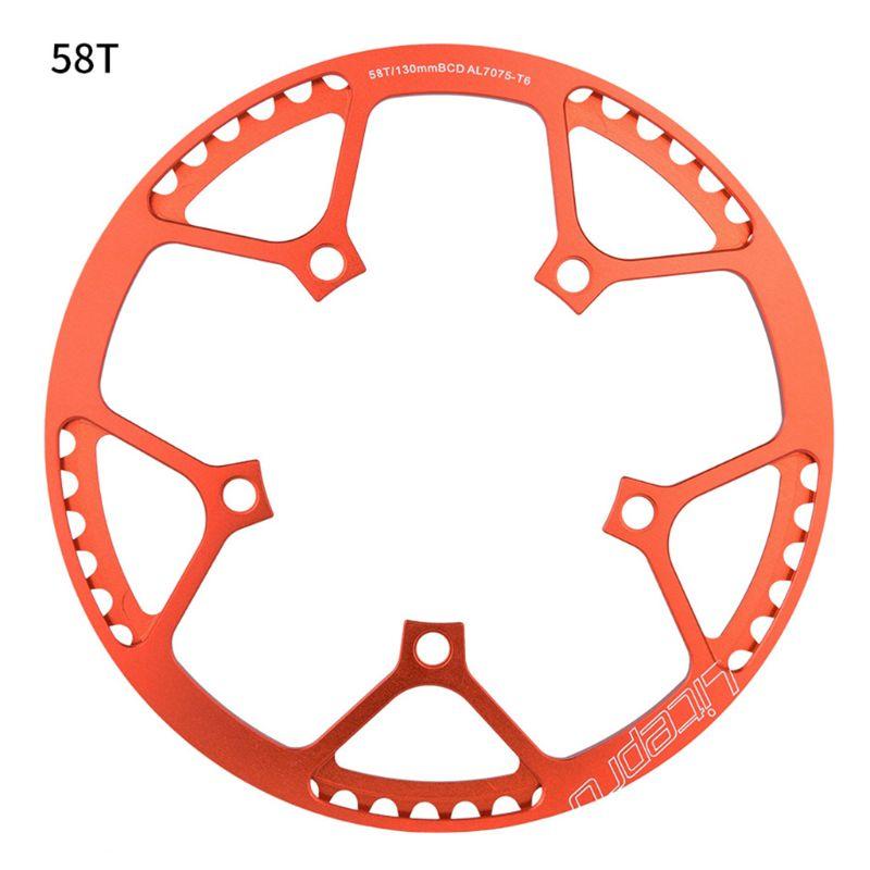 Ultralight 130 bcd bmx chainring dobrável bicicleta chainwheel crankset dente t4mf