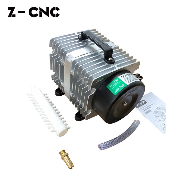 Z-CNC HaiLea 500W Air Compressor Aco500 Ac220V for Aquarium CNC Machine Air Blow Pump Aco-500 Co2 Laser Compressor enlarge
