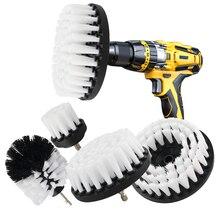 2/3.5/4/5 ''do mocowania szczotki do zestaw mocne ścieranie szczotka do polerowania samochodu czyszczenie łazienki zestaw z Extender narzędzia do czyszczenia kuchni