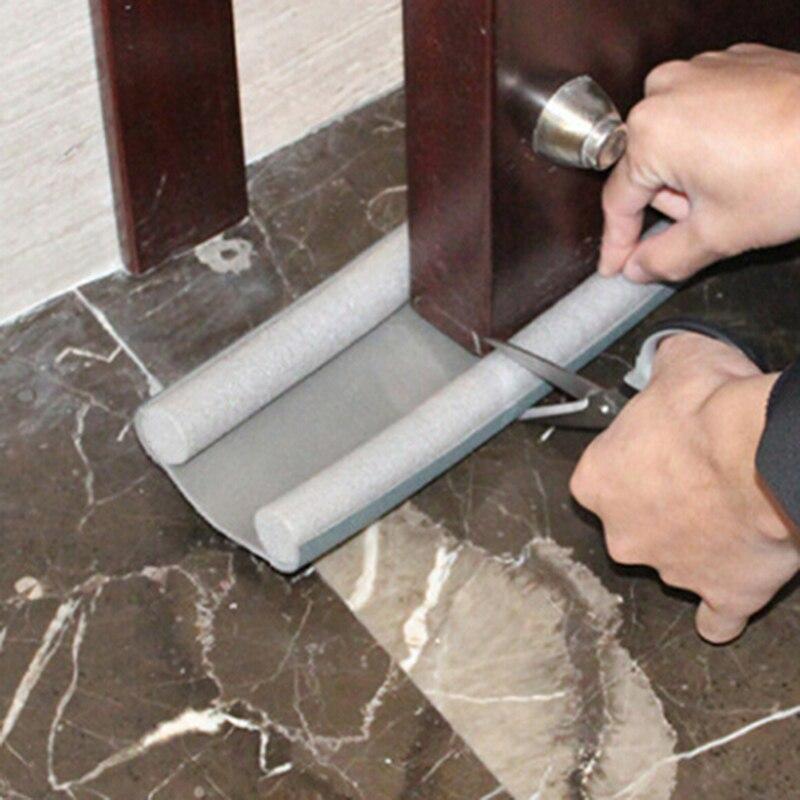 95cm parte inferior de la puerta de la tira de sellado del protector del sellador de la puerta