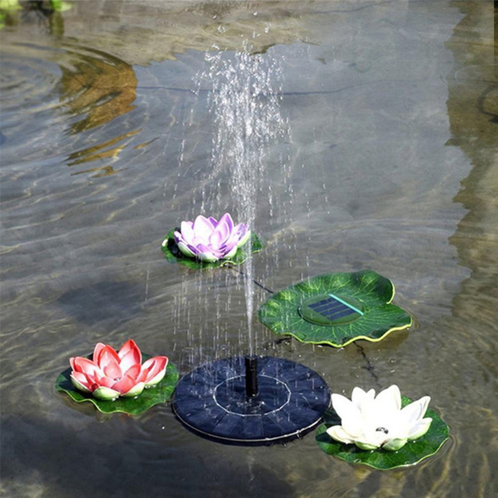 Solar Fountain Pump For Garden Patio Watering For Bird Bath Micro Water Pump 7V Vibrator Motor Garden Decor Pressure Boost Pump
