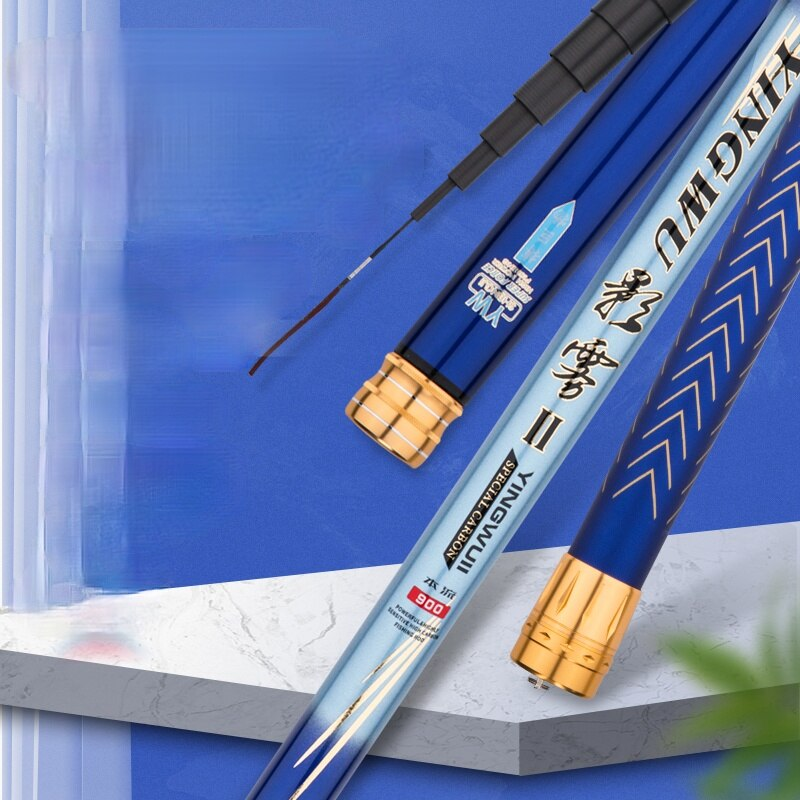 7/8/9/10/11/12/13m Power Hand Pole Super Hard Long Section Fishing Pole Carbon Fiber Wedkarstwo Olta De Pesca Fishing Tackle enlarge