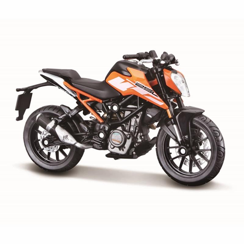 Bburago 1:18 KTM 250 Duke authorized simulation alloy motorcycle model toy car gift collection