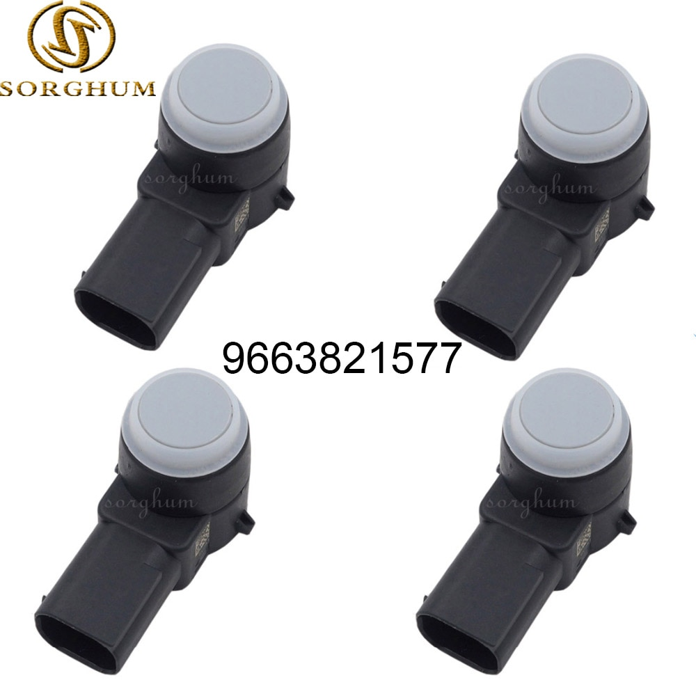 4 шт. 9663821577 9666016377 PDC датчик парковки для Peugeot 308 407 RCZ Citroen C4 C5 C6 DS3 9666016377XT