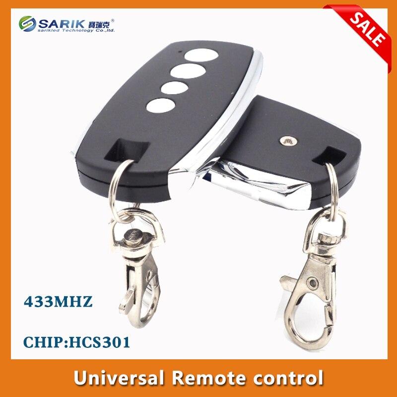 2 шт беспроводной дистанционный прокатный код hcs301 4 клавиши 433 МГц для гаража Дверная панель управления