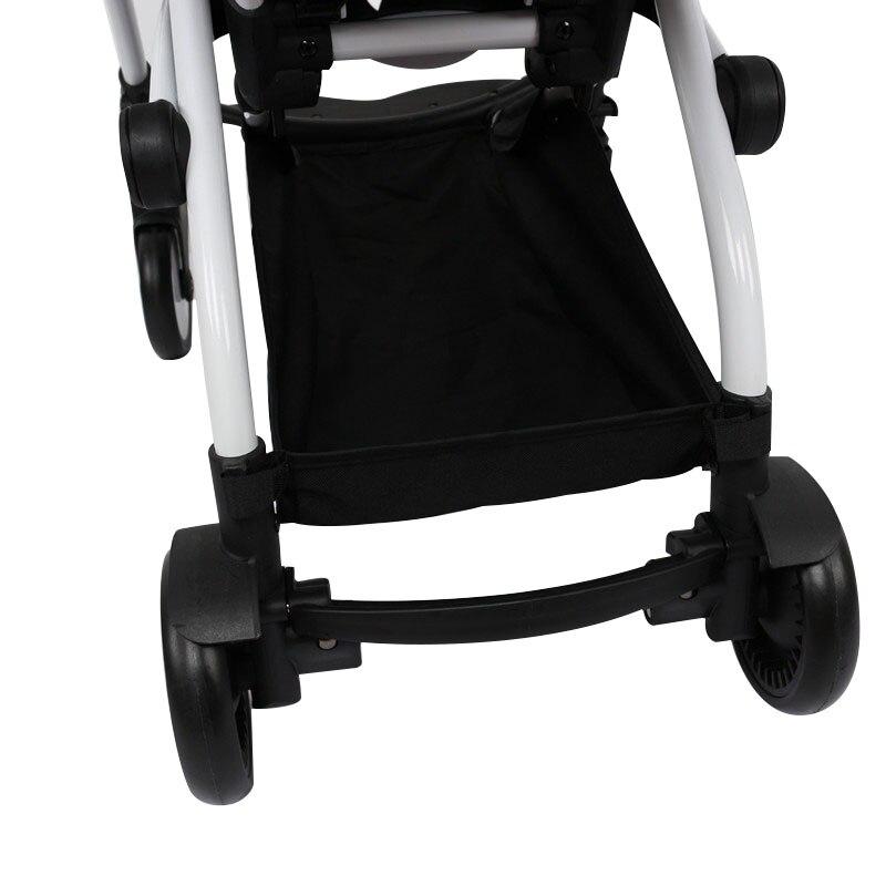 Аксессуары для коляски корзина для покупок для детская коляска Yoya аксессуары для коляски нижнее дно для Babyzen Yoyo Прогулочные коляски