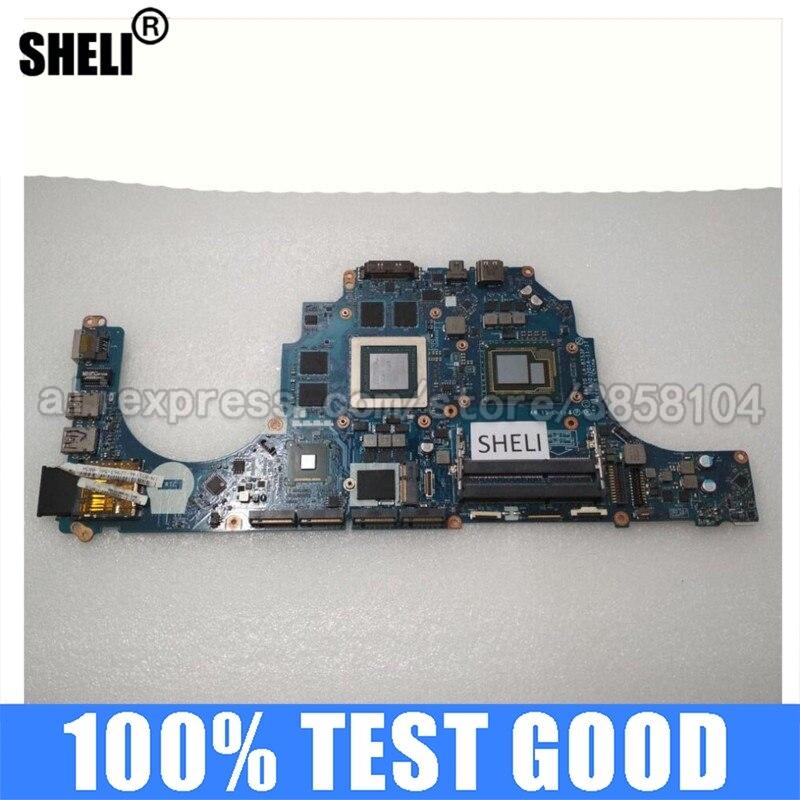 SHELI-اللوحة الأم Dell Alien-ware 15 R1 17 R2 ، مكون كمبيوتر شخصي ، DDR3 ، Inspiron ، Intel متكامل