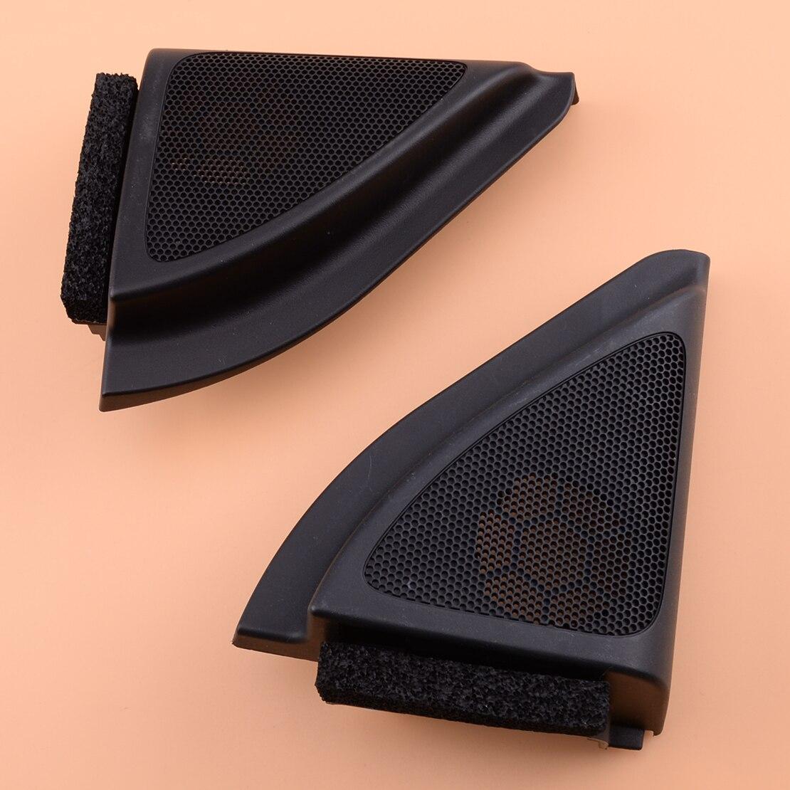 1 paar Front Tür Lautsprecher Hochtöner Dreieck Abdeckung Trim Panel Fit für Toyota Corolla 2013 2012 2011 2010 2009 2008 2007 2006