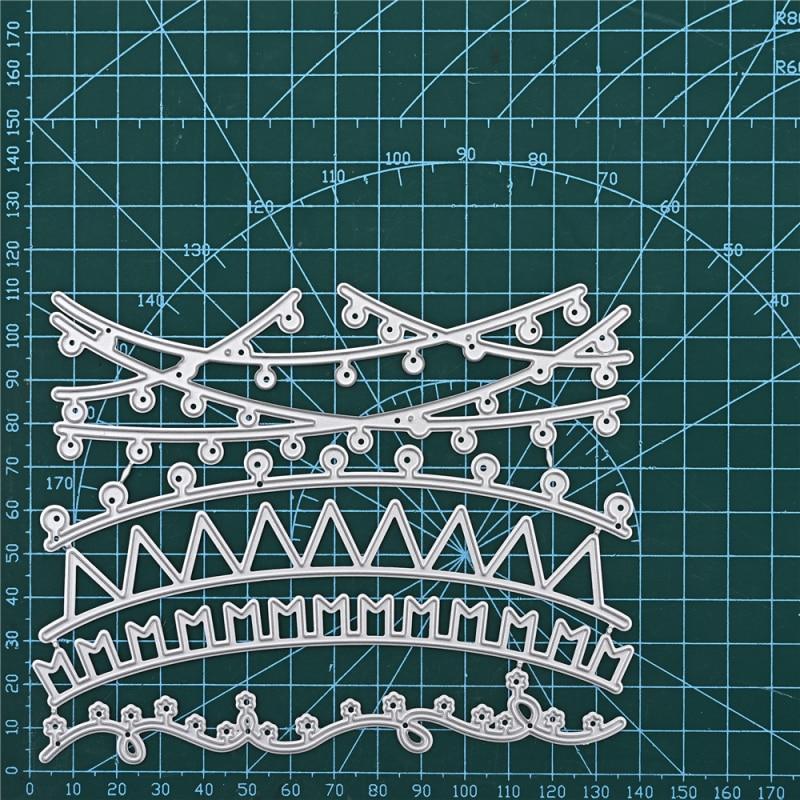YaMinSanNiO Holiday Celebration Metal Cutting Dies 2020 For Scrapbooking DIY Paper/photo Cards New Design Cutting Dies Craft Cut
