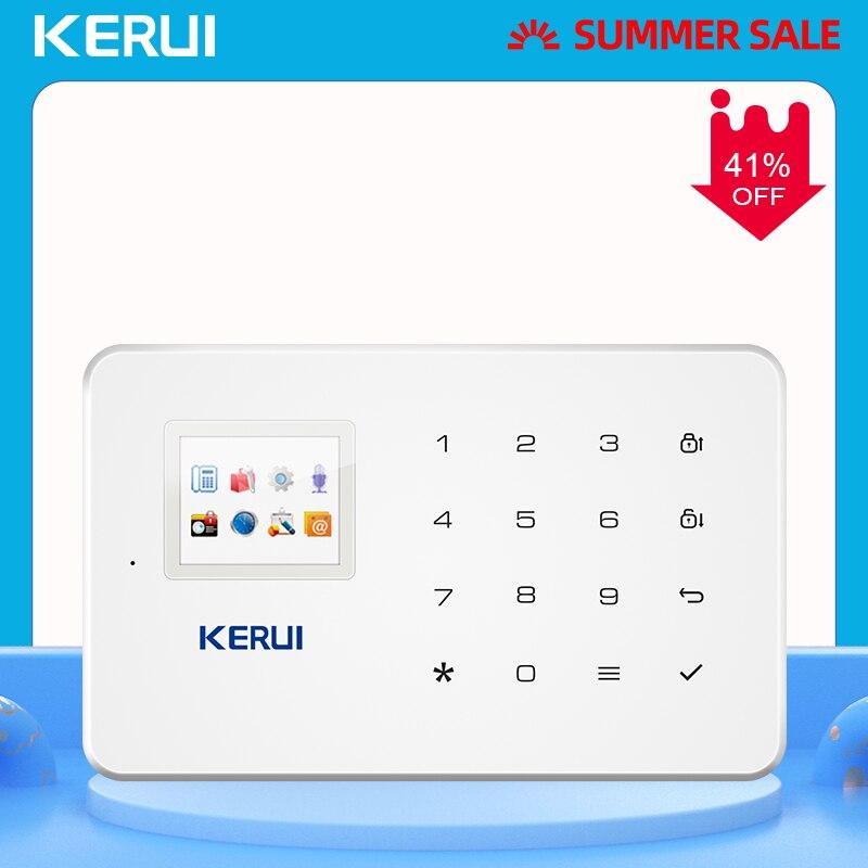 KERUI G18 Drahtlose GSM Alarm Alarmanlagen Sicherheits Hause IOS/Android APP Fernbedienung Alarm Control Panel