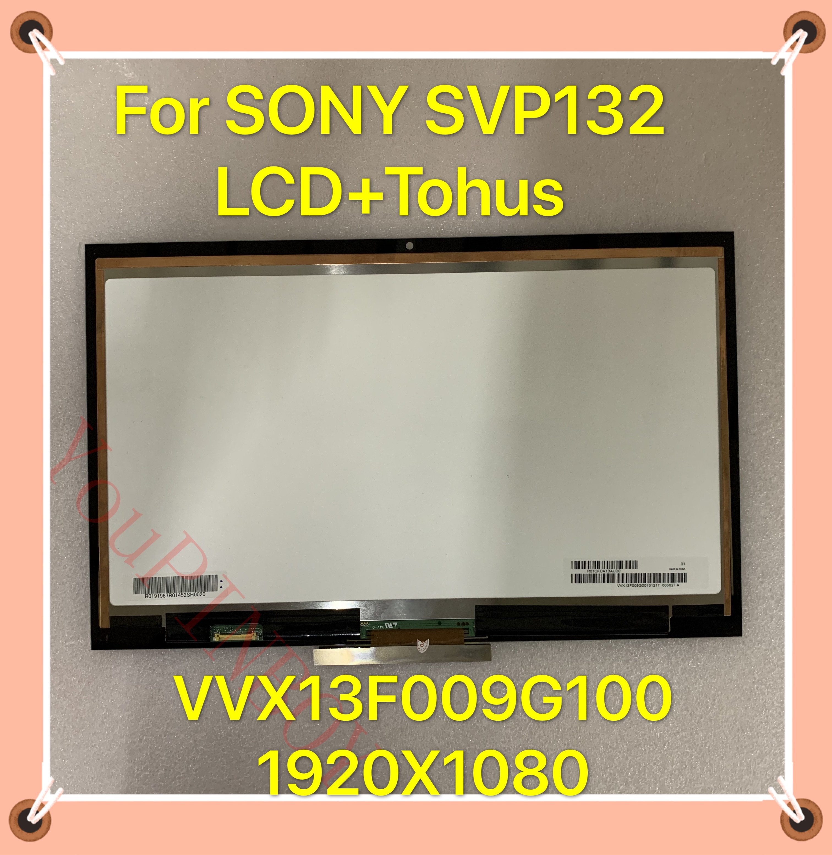 "Original 13,3 ""LCD MONTAJE DE digitalizador con pantalla táctil para Sony VAIO SVP13 Pro13 SVP132 SVP132A VVX13F009G001 FHD 1920*1080 pantalla"
