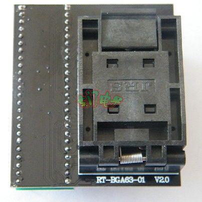 RT809H مخصصة المقبس RT-BGA63-01_V2.0 NW267 الوجه محول مقعد حرق مقعد