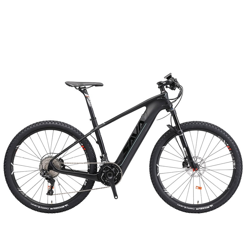 SAVA Electric mountain bike Powerful 350w Electric bicycle 36v Adult electric bicycle 27.5 Smart electric bike vtt electrique