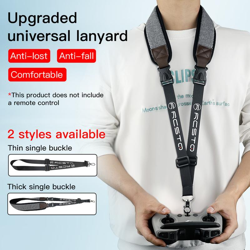 Newest Remote Controller Transmitter Lanyard Sling Neck Strap For DJI FPV COMBO Phantom Inspire Drone Parts Control Accessories