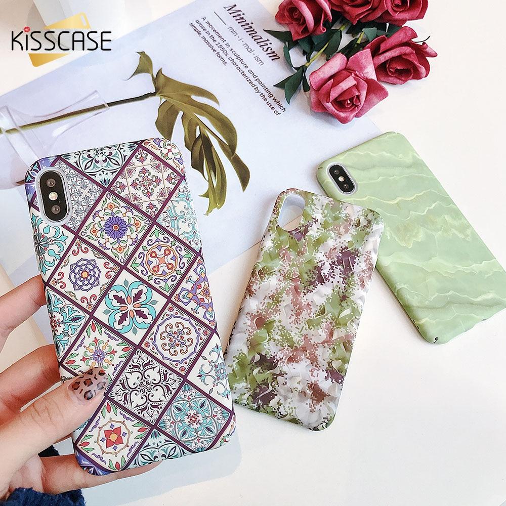 KISSCASE For Huawei P Smart 2019 P20 P30 Lite Honor 8X 9 10 Lite Cover Luminous PC Water Sticker Case for Honor 8X 9 10liteCoque