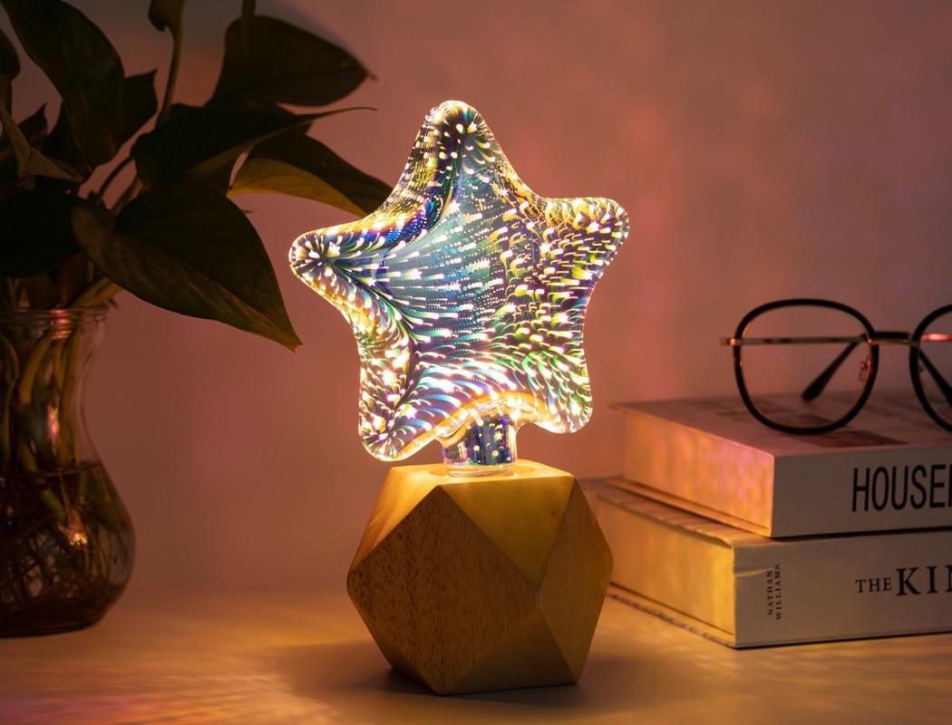 Светодиод свет лампочка магия цвет проектор авто вращение сцена свет праздник вечеринка бар КТВ дискотека