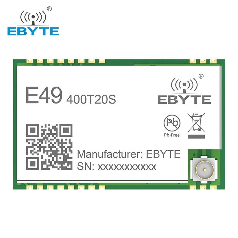 e49 400m20s 433mhz 20dbm cmt2300a chip wireless modules cost effective wireless data transmission spi module long range ebyte Wireless Module 433MHz GFSK Data Transmission Module EBYTE E49-400T20S Cost Effective 20dBm 100mW Long Range Low Consumption