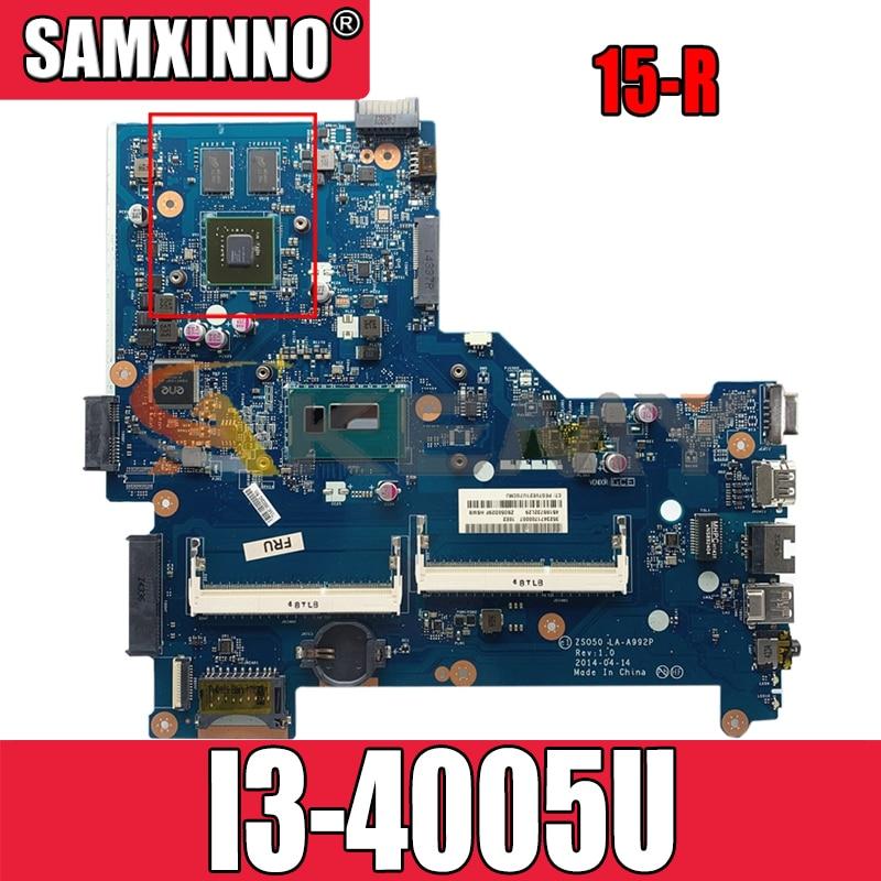 ل HP بافيليون 15-R LA-A992P 776078-001 SR1EK I3-4005U N15V-GM-S-A2 دفتر اللوحة اللوحة اختبار كامل 100% العمل