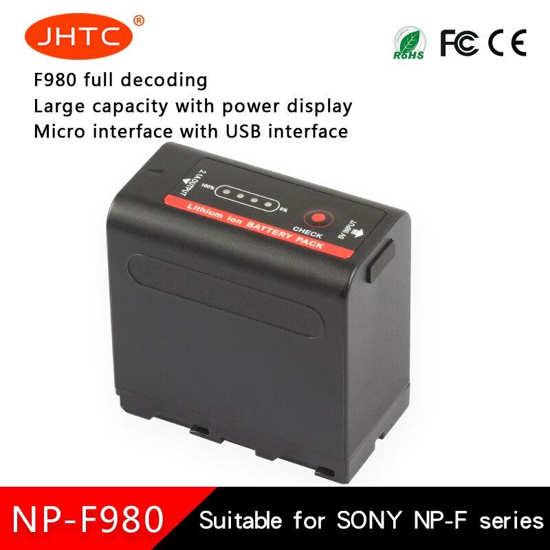 Canon Bateria NP-F980Exp F980 NP Para Sony CCD-TRV35 CCD-TRV940 CCD-RV100 CCD-TR415E DCR-TR7Series Baterias 8700mah
