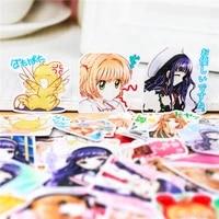 37pcs creative kawaii cute cartoon anime girls scrapbooking stickers decorative sticker diy craft photo albumschildren