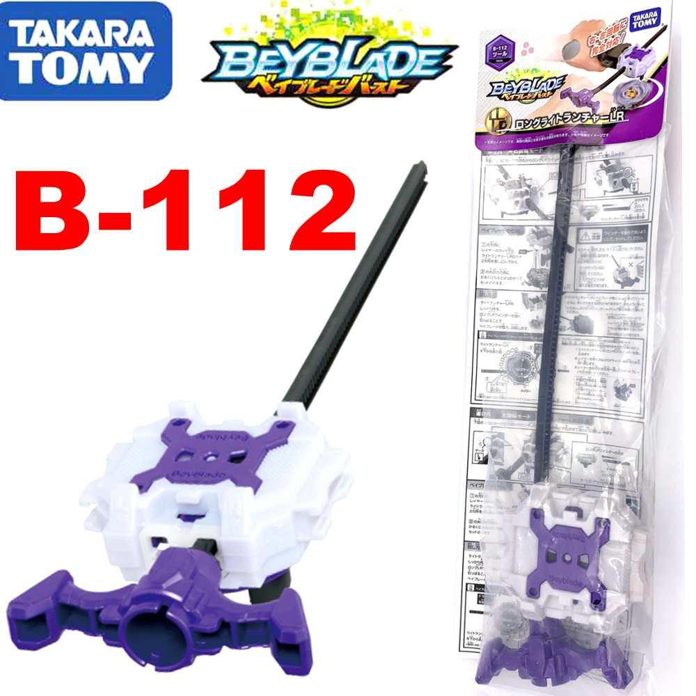 Takara tomy beyblade explosão B-112 longa luz lançador lr ferramenta original super-z
