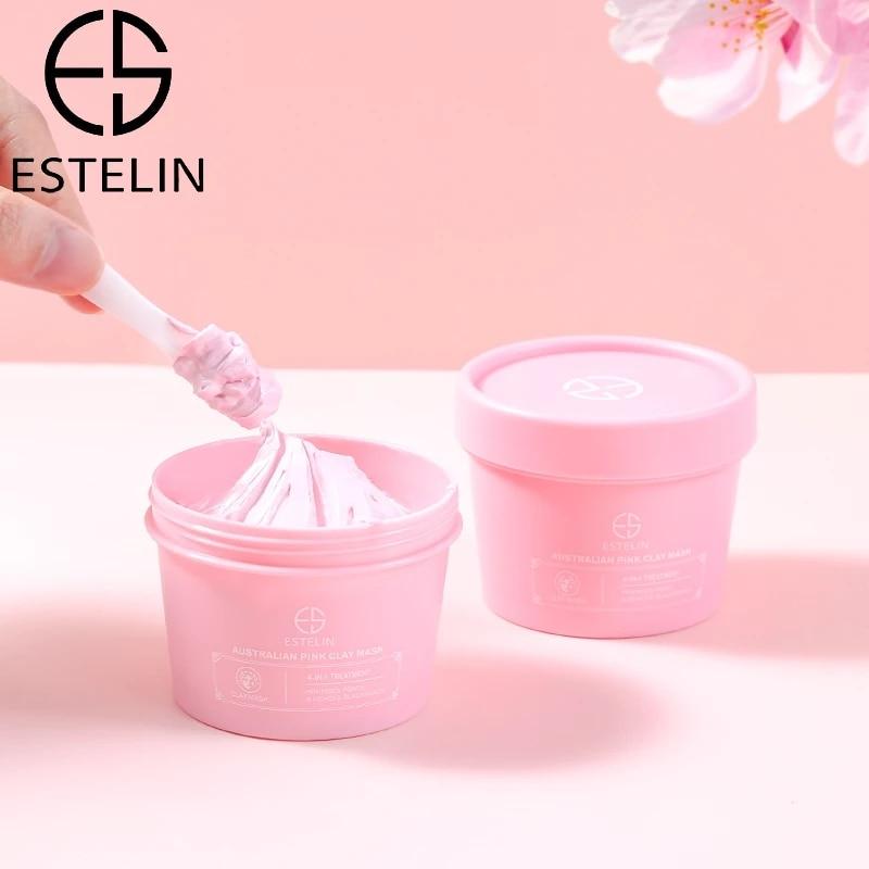100g Australian Pink Clay Mask Moisturizing Exfoliating Mud Mask Deep Cleansing Powder Mud Mask