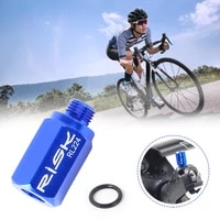 hydraulic disc brake oil filling funnel adapter bicycle disc brake oil change filling connector with sealing ring bicycle acces