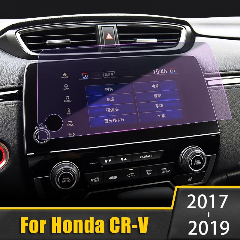 5/7 pouce pour Honda CR-V CRV 2017 2018 2019 verre trempé protecteur décran de Navigation de voiture écran tactile film anti-rayures