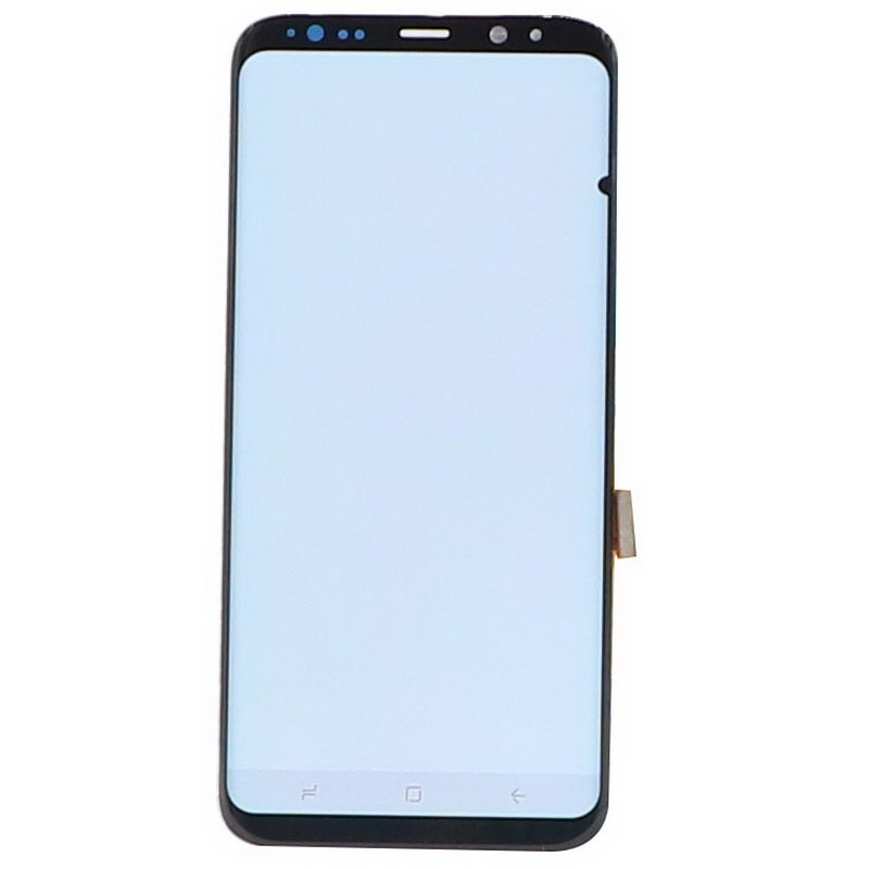 Original Lcd For Samsung Galaxy S8 LCD G950F Touch Screen S8 Plus G955F G955 Super Amoled Touch Screen Assembly With Small spots enlarge